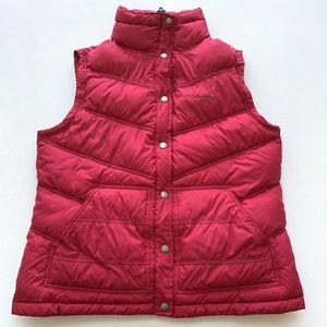 Columbia Puffer Quilted Vest Jacket Womens Size L